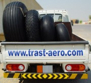 Aviation tyres 1050*400