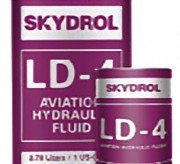 Solutia Skydrol LD-4 fire-resistant aviation hydraulic fluid